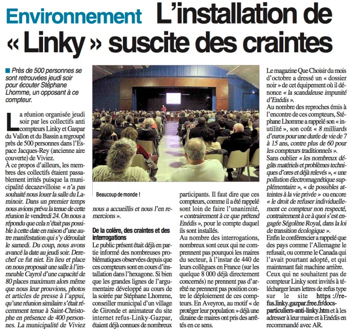 Linstallation de Linky sucite des craintes -CP-251117
