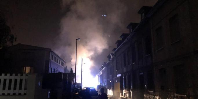 2018.10.19 Incendie Sotteville les rouen